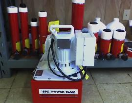 Powerteam Electric pump and Ram (Dallas)